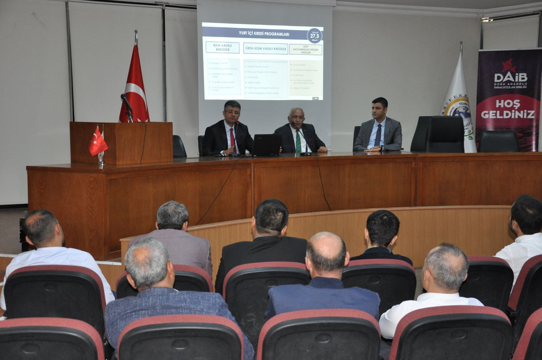 FOREIGN TRADE INFORMATION SEMINAR HELD